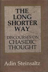 adin steinsaltz books the shorter way discourses in chasidic thought adin