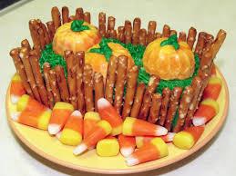 make a pumpkin patch cake u2013 dollar store crafts