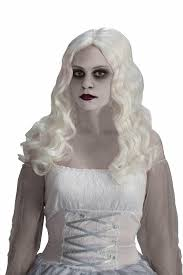 amazon com forum novelties women u0027s spirited ghost costume wig