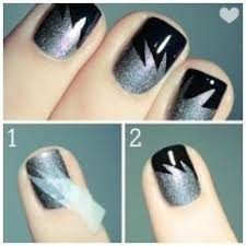 Step By Step Nail Art Designs For Beginners Indian Makeup And - At home nail art designs for beginners