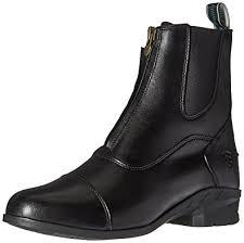 womens size 12 paddock boots amazon com ariat s heritage iv zip paddock boot black 6 c