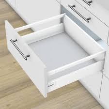 cuisine blum kit tiroir casserolier coulissant metal blum accessoires de cuisine