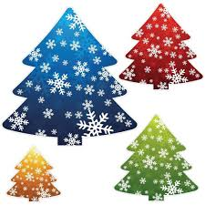 christmas tree shaped corrugated plastic yard decorations