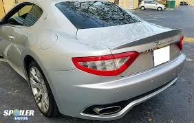 2016 maserati granturismo rear 2012 2017 maserati granturismo coupe rear lip spoiler mc sport