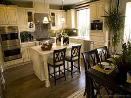 kitchen island antique white kitchen cabinets granite countertop