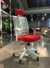 on promotion office rolling chair from foshan white mesh staff