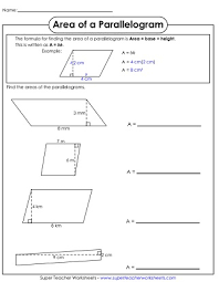 properties of parallelograms worksheet parallelogram worksheet pdf quadrilateral worksheetsprintables