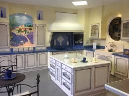 cuisine legrand cuisine équipée cérusée bleu chêne massif promo 30