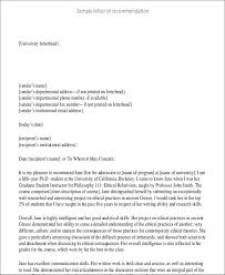 8 student letter templates 8 free sample example format