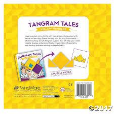 tangram puzzles tangram tales yellow wonders