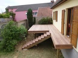 Prix Terrasse Suspendue Beton by Conception Fournitures Et Pose De Terrasses Sur Pilotis En Bois