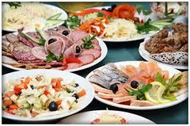 dinner menus buffet menu ideas