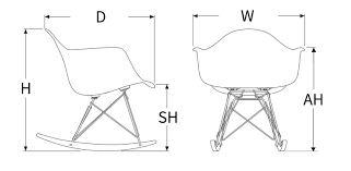 Eames Style Rar Molded Black Really Want One Of These Eames Pale Green Or Yellow Via Coco