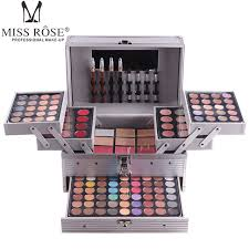 Makeup Set miss professional makeup set box in aluminum three layers