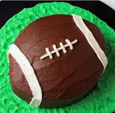 how to make a football cake easy 6 step tutorial