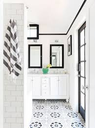 scandinavian black and white tile bathroom ideas designs
