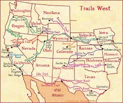 map salt lake city to denver trails west a map of early western migration trails tngennet inc
