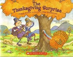 the thanksgiving peggy archer 9780545059299