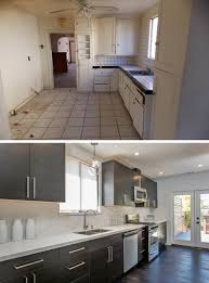 bright modern kitchen see what these 12 old and dated kitchens look like after receiving