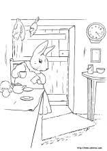 rabbits coloring pages peter rabbit coloring pages on coloring book info