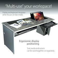 office desk with adjustable keyboard tray computer lift for desk office desks table with adjustable keyboard