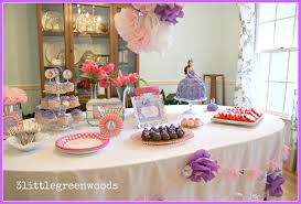 Princess Party Decorations Interior Design Cool Princess Themed Birthday Party Decorations