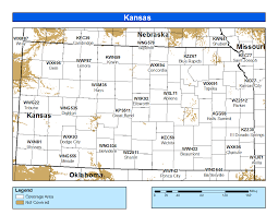 Map Topeka Ks Noaa Weather Radio Kansas