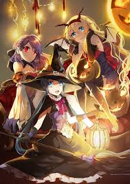 happy halloween artwork happy halloween anime style interest anime news network