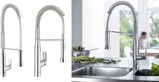 grohe k7 kitchen faucet grohe k7 large small semi pro kitchen faucet