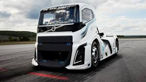 volvo big truck bbc autos make way for the world u0027s fastest truck