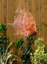 Copper Garden Art Metal Weaving Garden Art Insect Sculptures Fiona Campbell