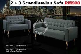 scandinavian sofa 3 2 seater furniture u0026 decoration for sale