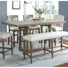 kitchen counter table balboa counter height table stool 3 piece