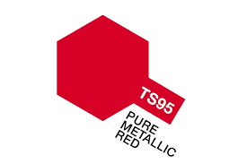 spray paint ts95 pure metallic red 85095