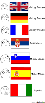 Different Languages Meme - mickey mouse in different languages by recyclebin meme center
