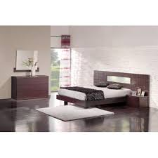chambre wengé chambre adulte complète wenge verone lit 2 chevets commode