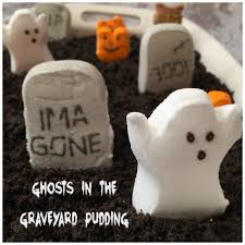halloween peeps ghosts in the graveyard pudding a sparkle of genius