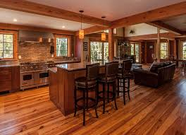 Post And Beam House Plans Floor Plans Proctor Farmhouse Open Floor Beams And Kitchens