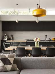 cuisine gris noir le gris dans la cuisine cocon de décoration le