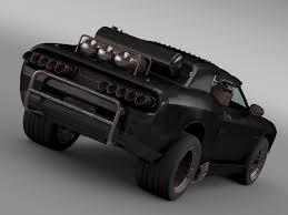 Dodge Challenger Off Road - mad max fight interceptor dodge challenger 2015 by creator 3d