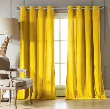 Curtains For Yellow Living Room Decor Living Room Velvet Curtains With Yellow Curtain And Brown Wooden