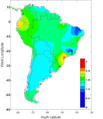 climate changes of the recent past in the south american continent
