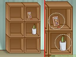 How To Build A Corner Bookcase Step By Step 4 Ways To Decorate A Bookshelf Wikihow