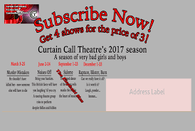 Curtain Call Theatre Public Performance Private Events Venue Theatre U0026 Play