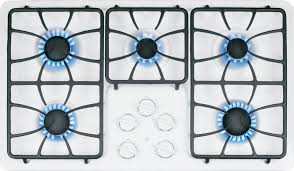 Ge Built In Gas Cooktop Jgp633detww Ge 36