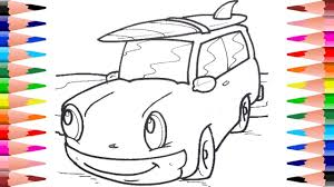 how to paint cars coloring pages coloring disney cars in