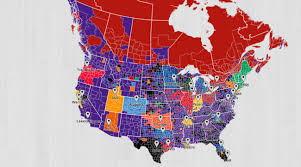 Mls Teams Map Twitter Fan Map Shows Lakers Are Nba U0027s Most National Team Si Com
