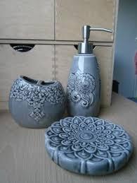 Grey Bathroom Accessories by Cynthia Rowley Bathroom Accessories Elephant Bathroom
