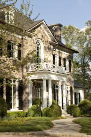 Colonial House With Farmers Porch White Colonial House With Front And Side Porches And Black