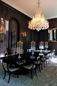 best 25 dining room chandeliers ideas on pinterest dinning room black formal dining room black walls with white ceilings black molding and black trim